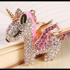 Accessories - Pink Unicorn Keychain🦄